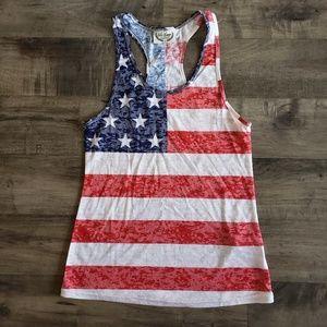 Tops - American Flag Tank Top